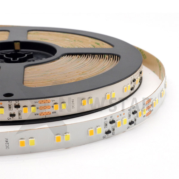 SMD2835 120LEDs/m Constant Current Dual White LED Strip
