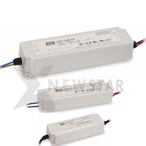Meanwell LPV IP67 Power Supply